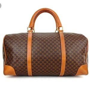 Celine Bags   Vintage Weekender   Poshmark fdd7b81fc0